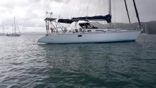 Jeanneau Sun Legend 41 : Anchorage in Martinique